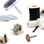 Gurte, Bänder, Nägel und Verschlüsse