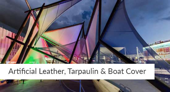 Artificial Leather, Tarpaulin & Boat Cover